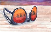 Sunglasses w reflections