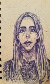 Long face lady